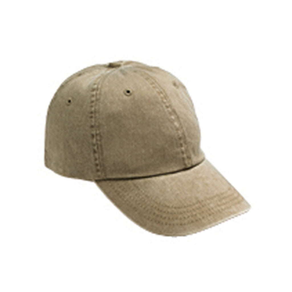 Anvil Khaki Solid Low-Profile Pigment-Dyed Cap