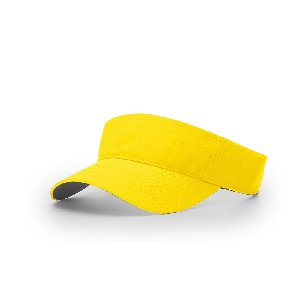 647edc4ac9a1d Richardson Yellow R-Active Lite Outdoors Visor