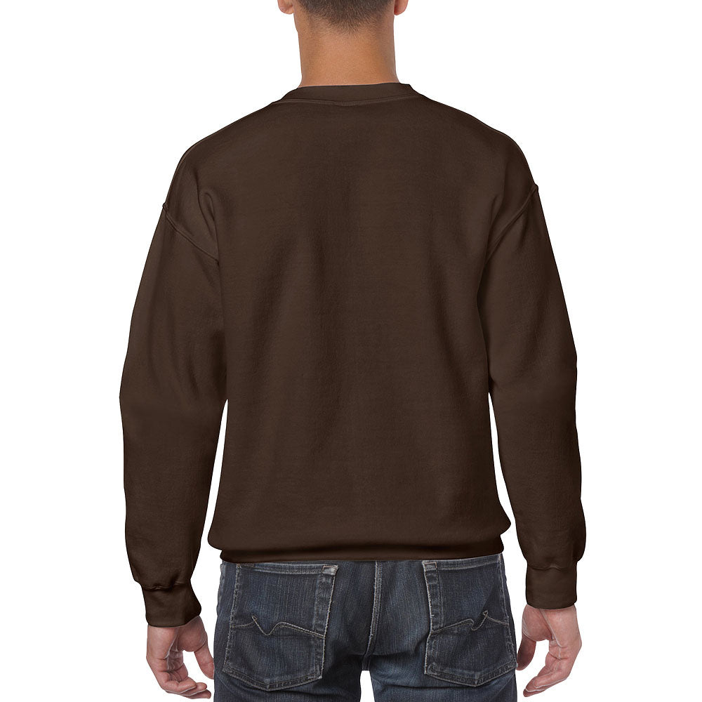Gildan Men's Dark Chocolate Heavy Blend Crewneck Sweatshirt