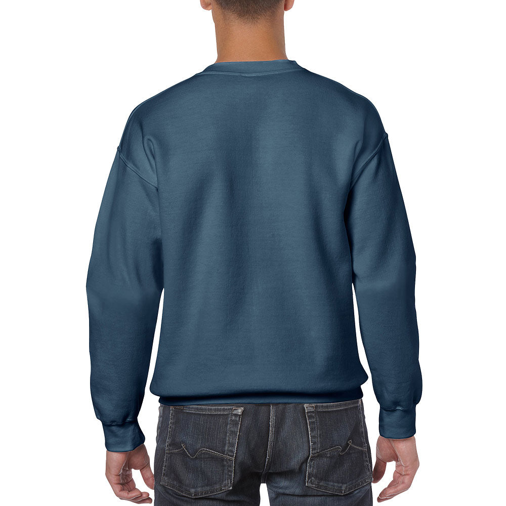 Gildan Men's Indigo Blue Heavy Blend Crewneck Sweatshirt