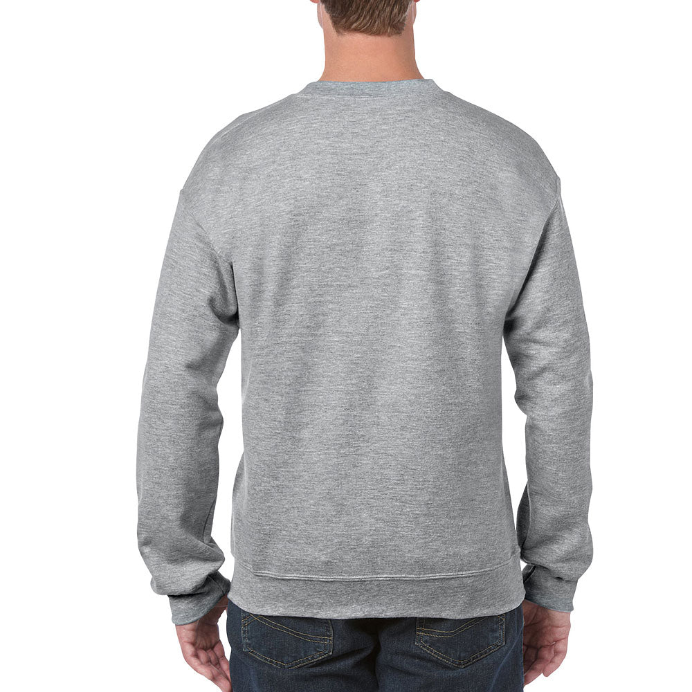 Gildan Men's Sport Grey Heavy Blend Crewneck Sweatshirt
