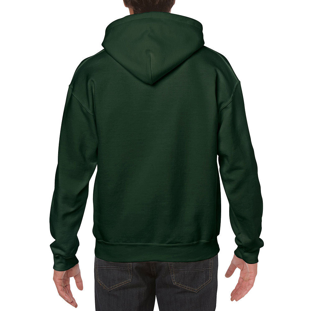 Gildan Men's Forest Green Heavy Blend Hooded Sweatshirt