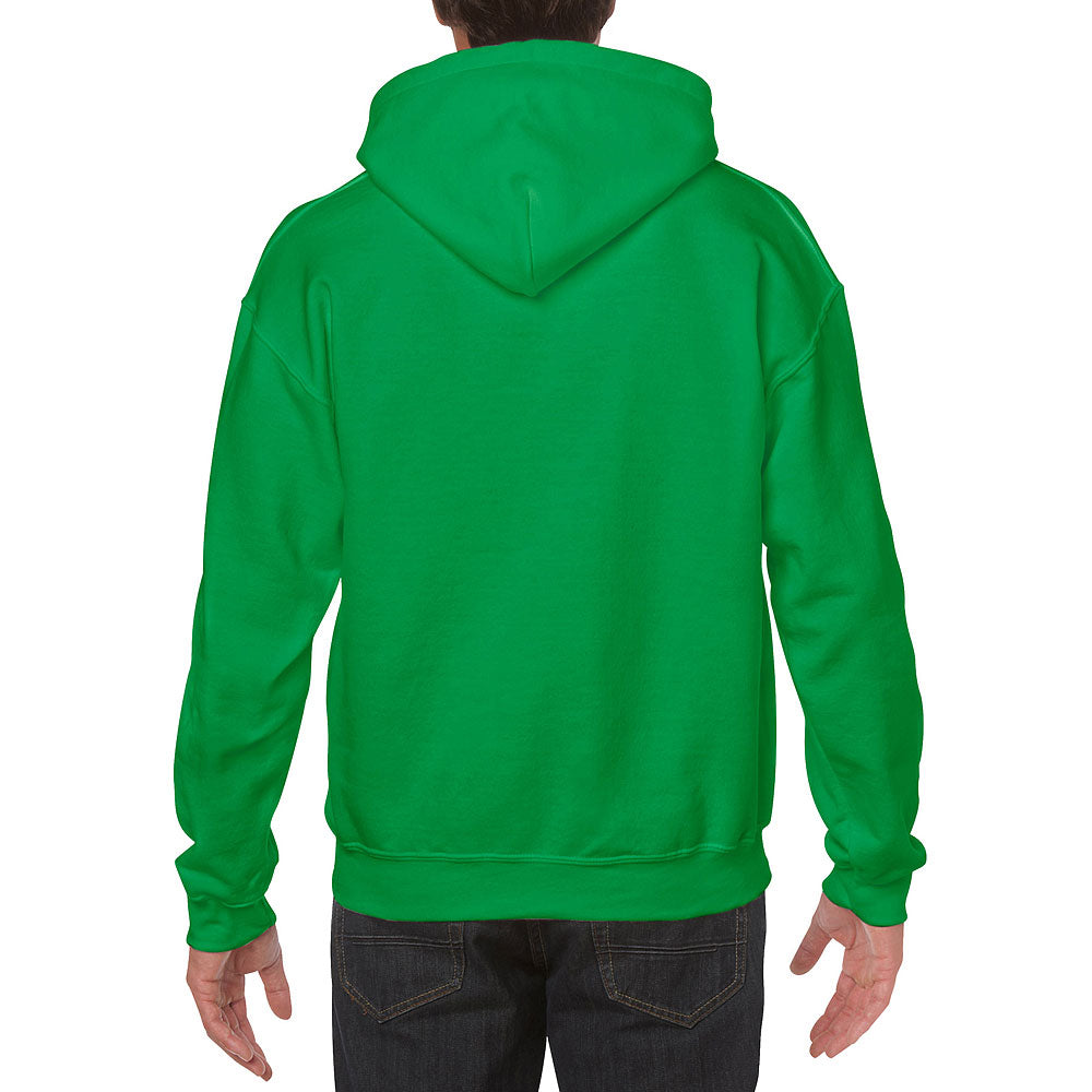 Gildan Men's Irish Green Heavy Blend Hooded Sweatshirt