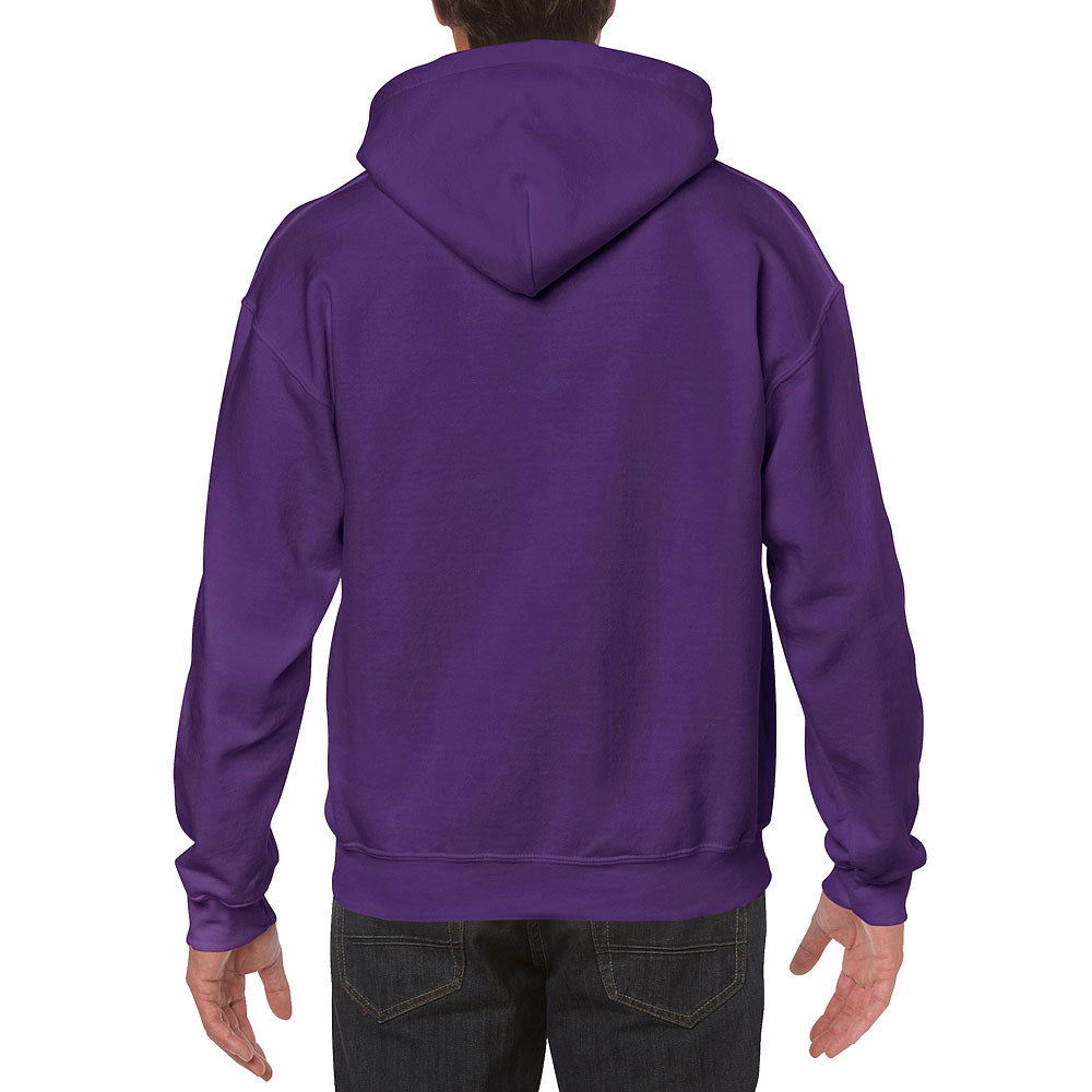 Gildan Men's Purple Heavy Blend Hooded Sweatshirt