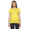 2102-american-apparel-womens-yellow-t-shirt