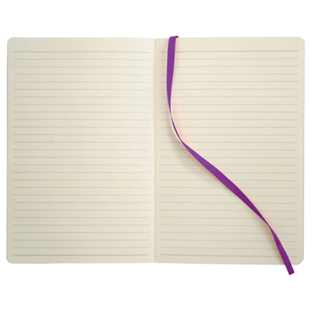 JournalBooks Purple Ambassador Bound Notebook