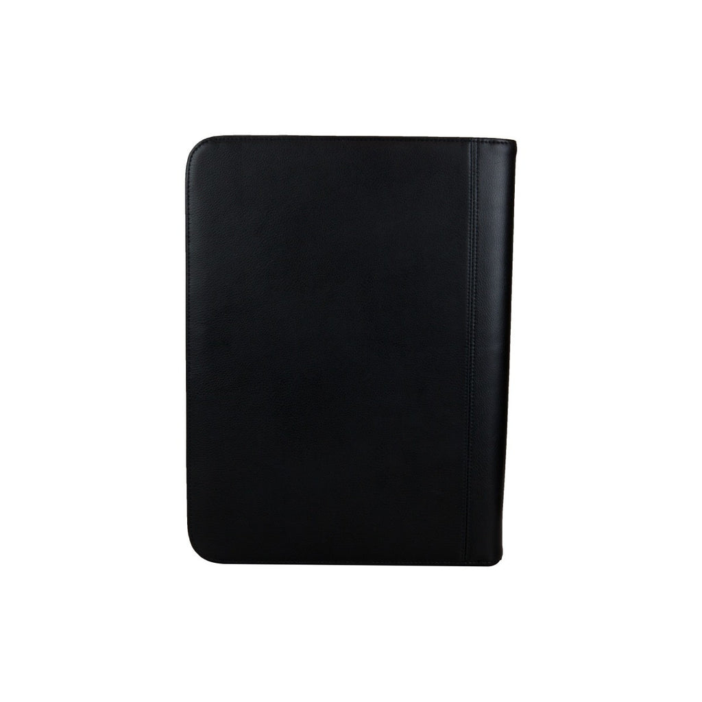 Travis & Wells Black Leather Padfolio