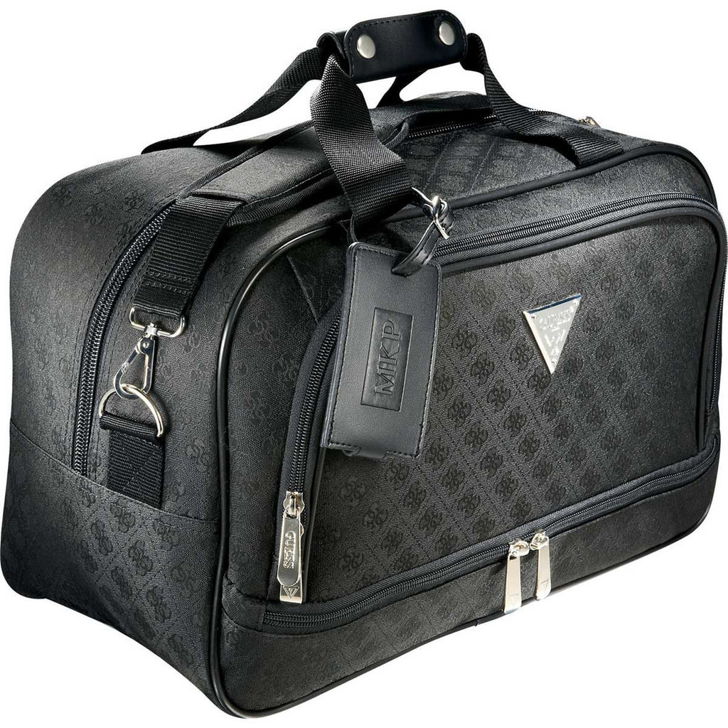 "Guess Women's Black Signature Travel 15"" Computer Tote"