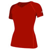 3873-adidas-womens-orange-short-tee