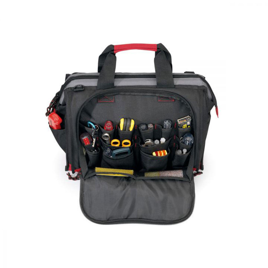 Gemline Black/Red All-Purpose Tool Bag