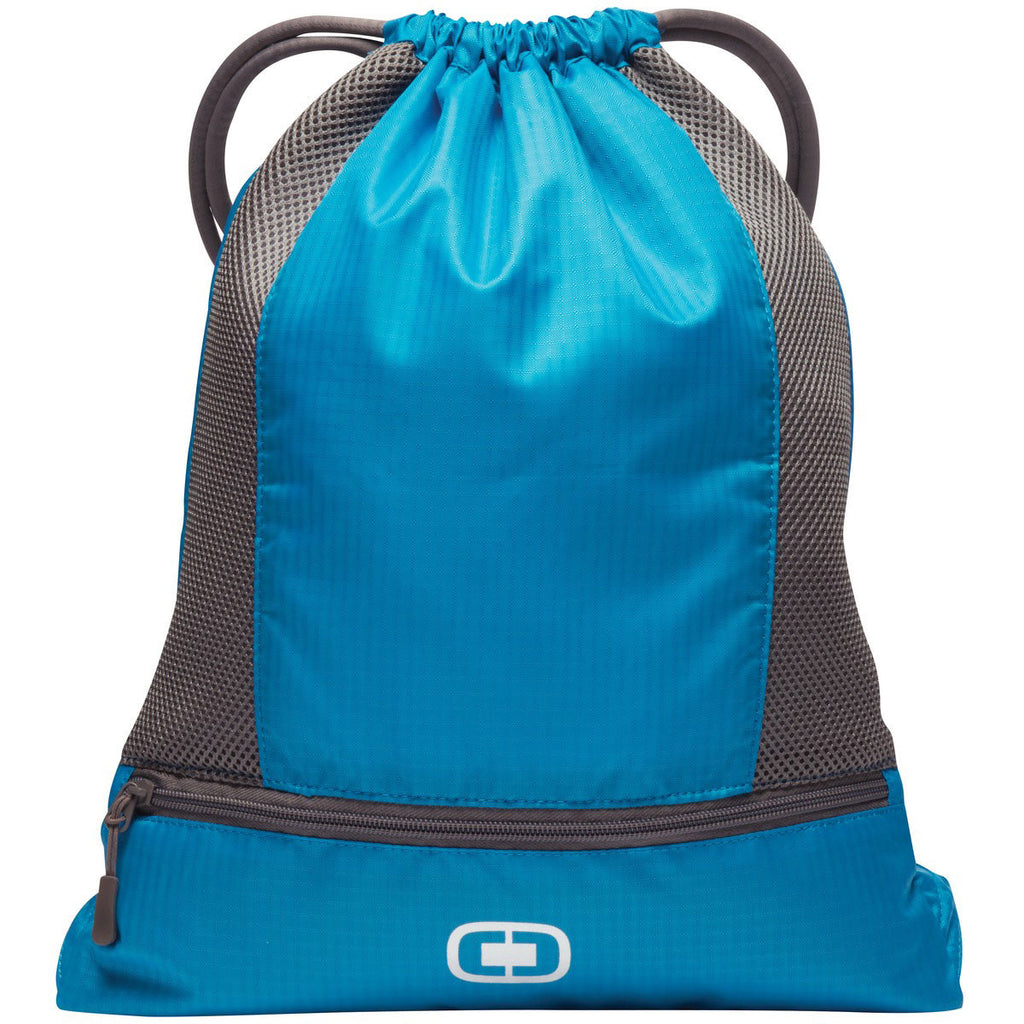 OGIO Pulse Turquoise/Grey Cinch Pack