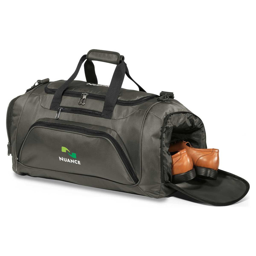 Gemline Gunmetal Grey Cross Country Duffel