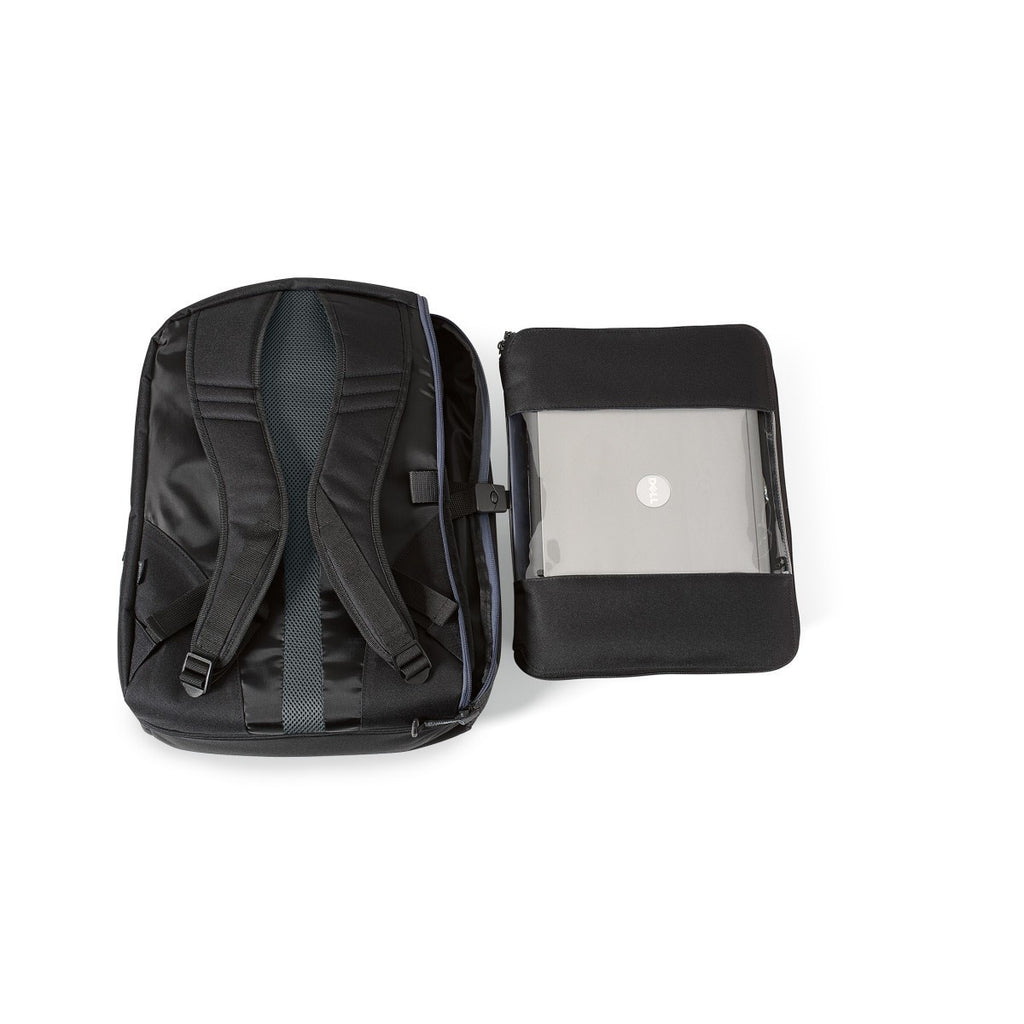 Life in Motion Black Computer Backpack