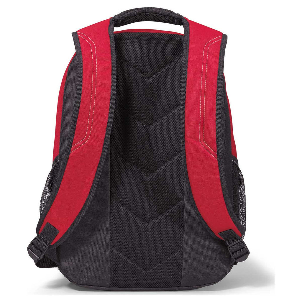 Gemline Red Matrix Computer Backpack