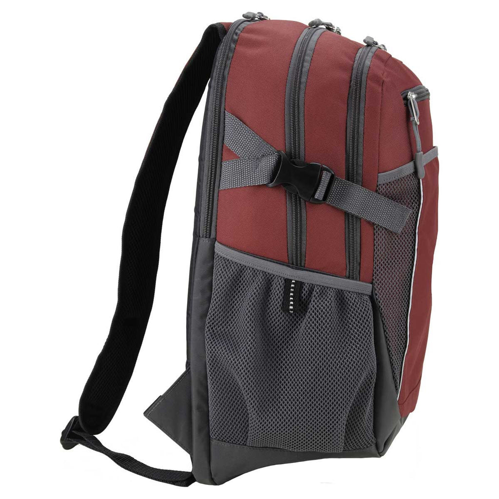 Gemline Red Pioneer Computer Backpack