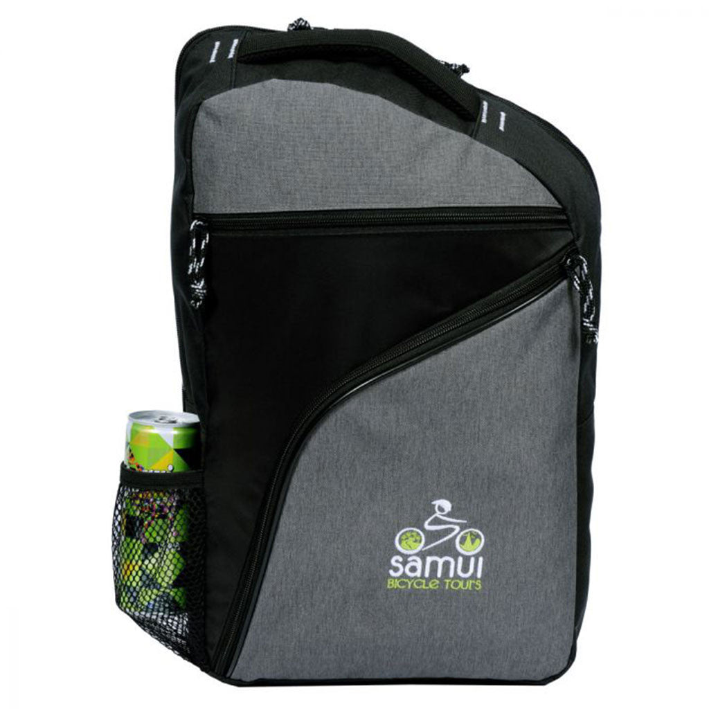 Gemline Black/Heather Grey McKinley Computer Sling Bag