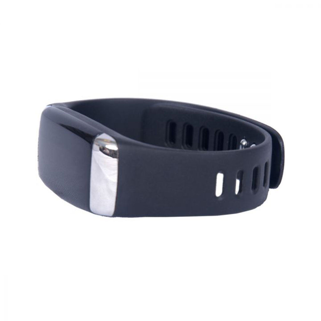 Gemline Black Active Health Tracker with Heart Rate Monitor