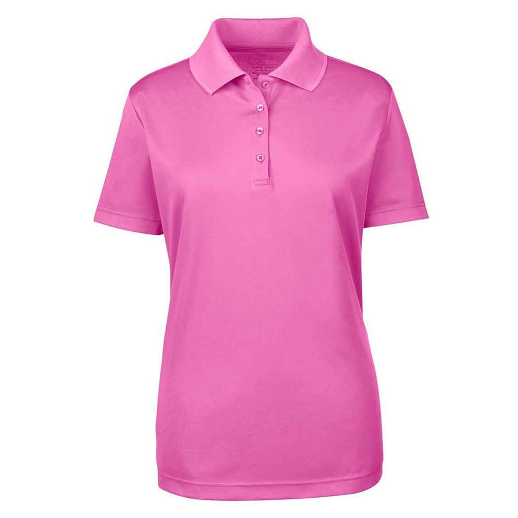 Core 365 Women s Charity Pink Origin Performance Pique Polo eb1563d158