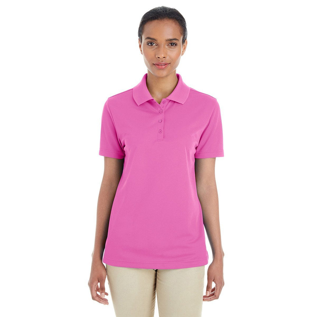 Core 365 Women's Charity Pink Origin Performance Pique Polo