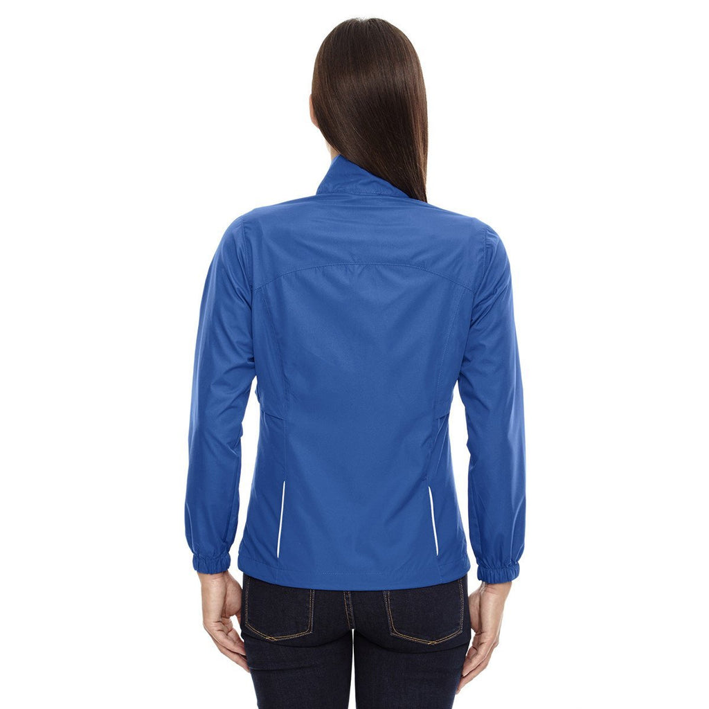 Core 365 Women's True Royal Motivate Unlined Lightweight Jacket