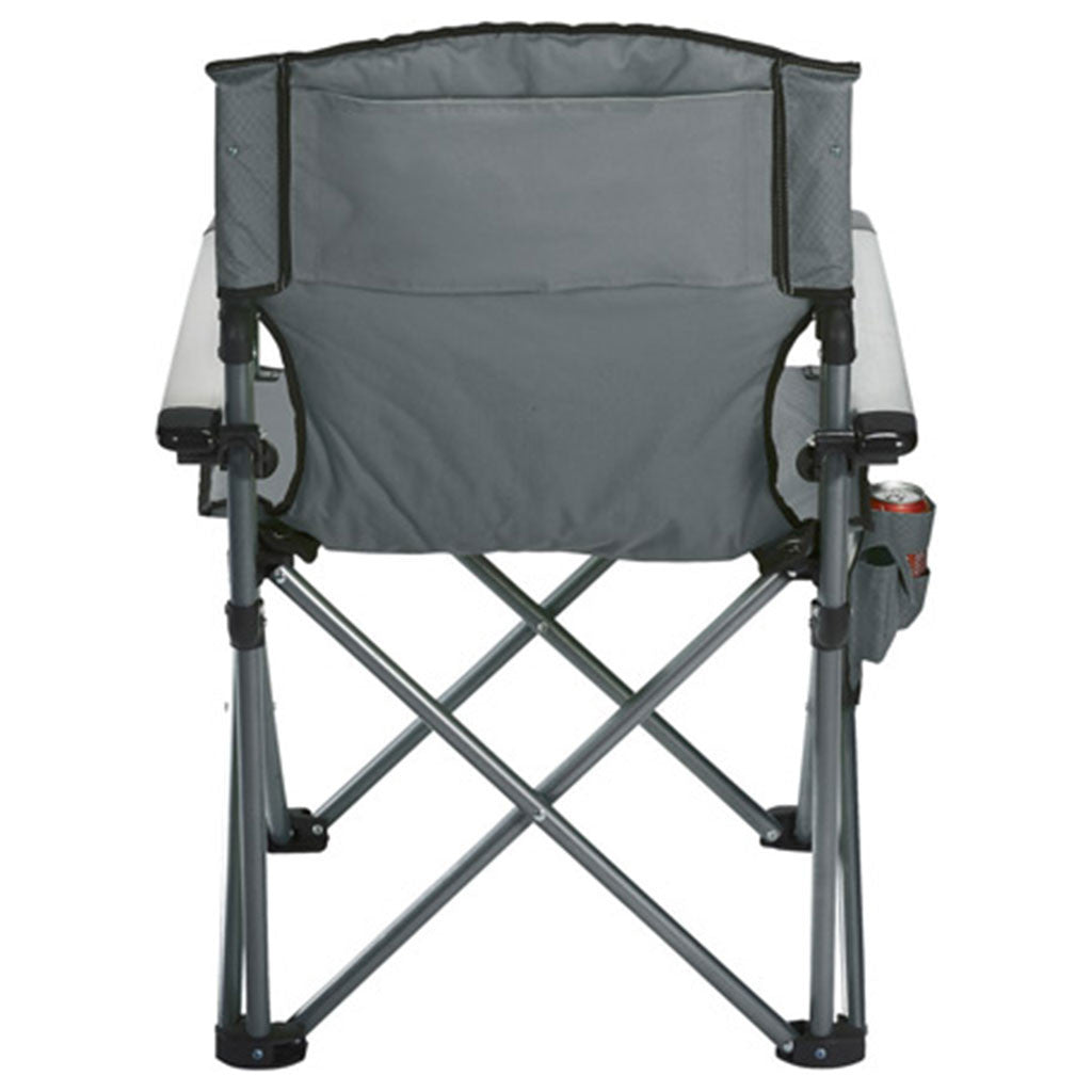 High Sierra Grey Deluxe Camping Chair