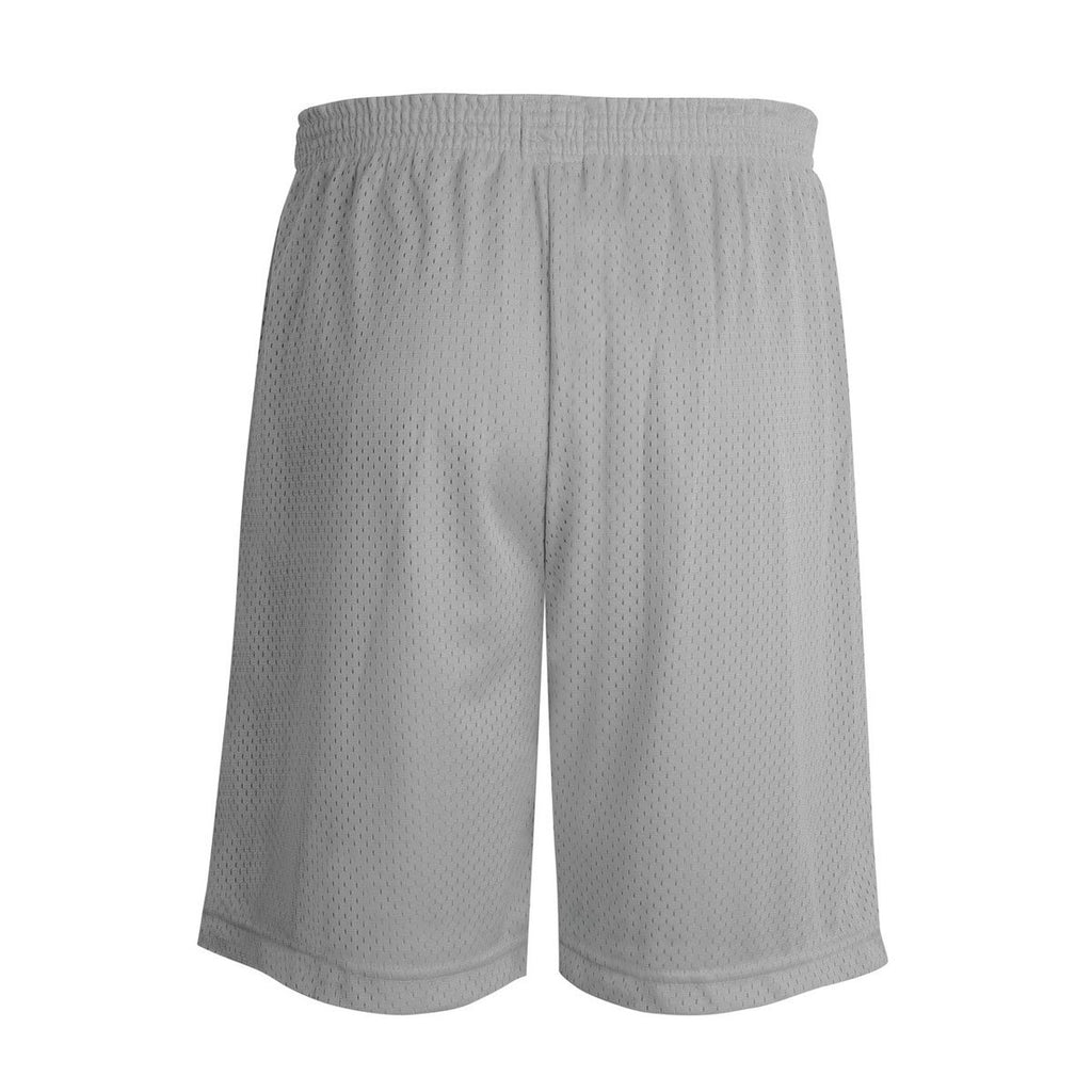 Champion Youth Athletic Grey Mesh Short - 7 Inch