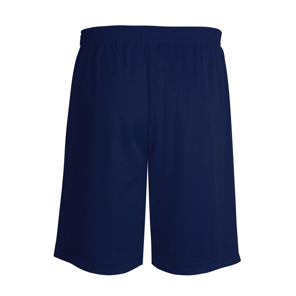 Champion Youth Navy Mesh Short - 7 Inch