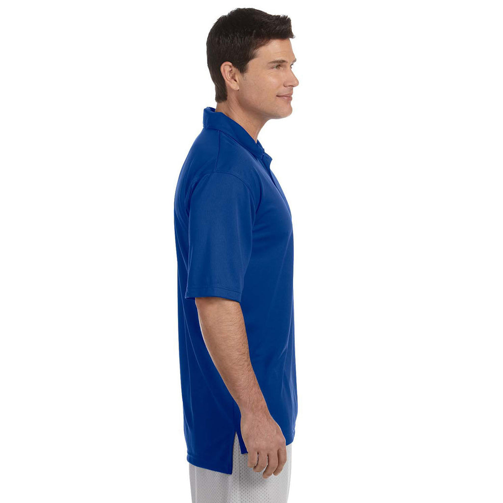 Russell Athletic Men's Royal Team Essential Polo