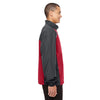 Core 365 Men's Classic Red/Carbon Stratus Colorblock Lightweight Jacket
