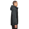 Core 365 Men's Black/Carbon Inspire Colorblock All-Season Jacket