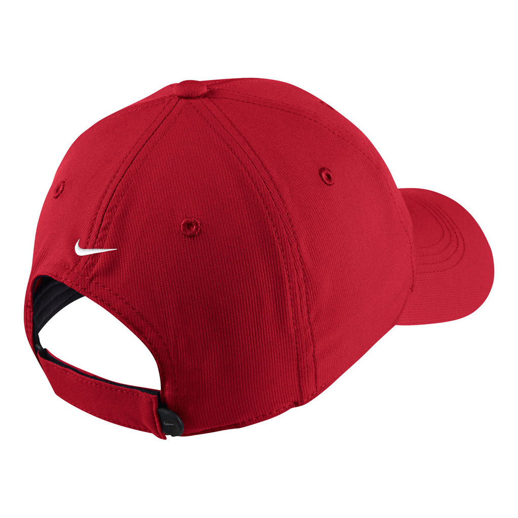 687d43ed1ba Nike University Red Legacy 91 Tech Custom Cap