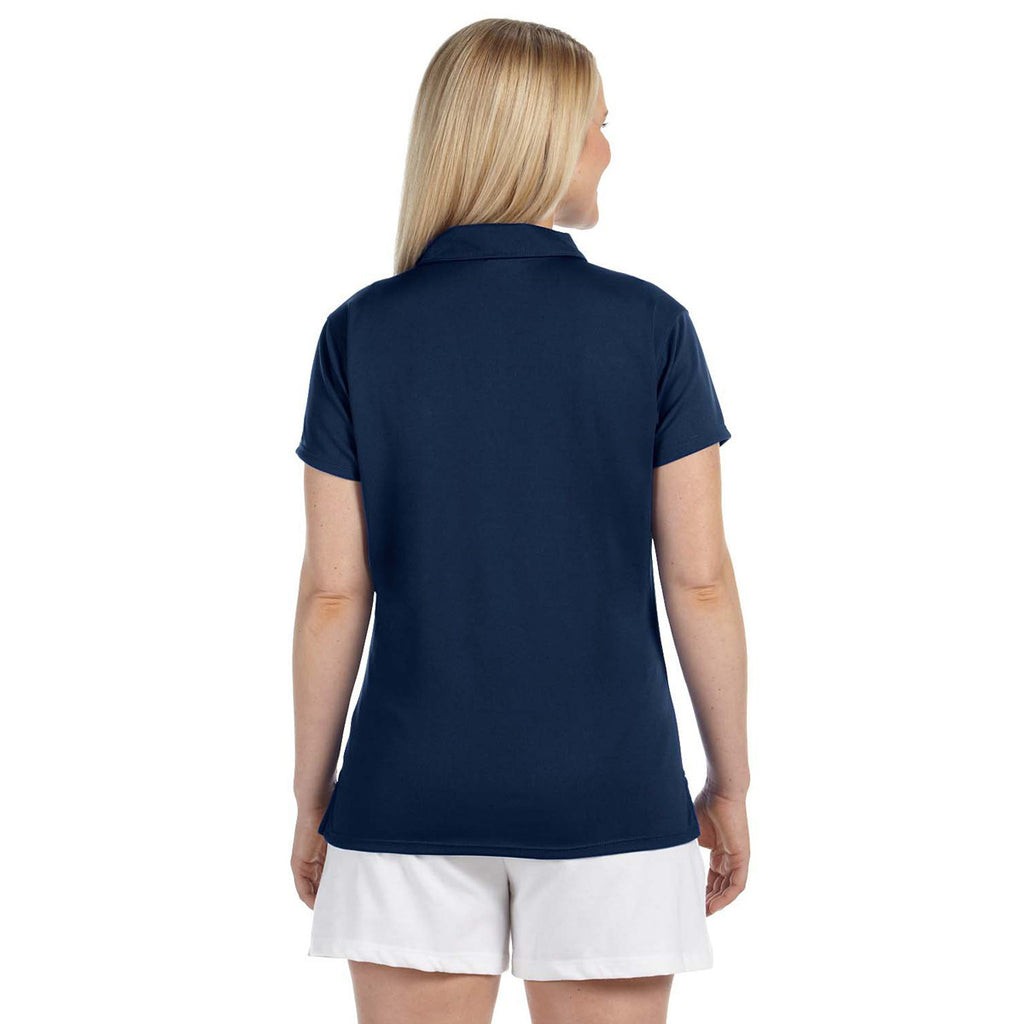 Russell Athletic Women's Navy Team Essential Polo