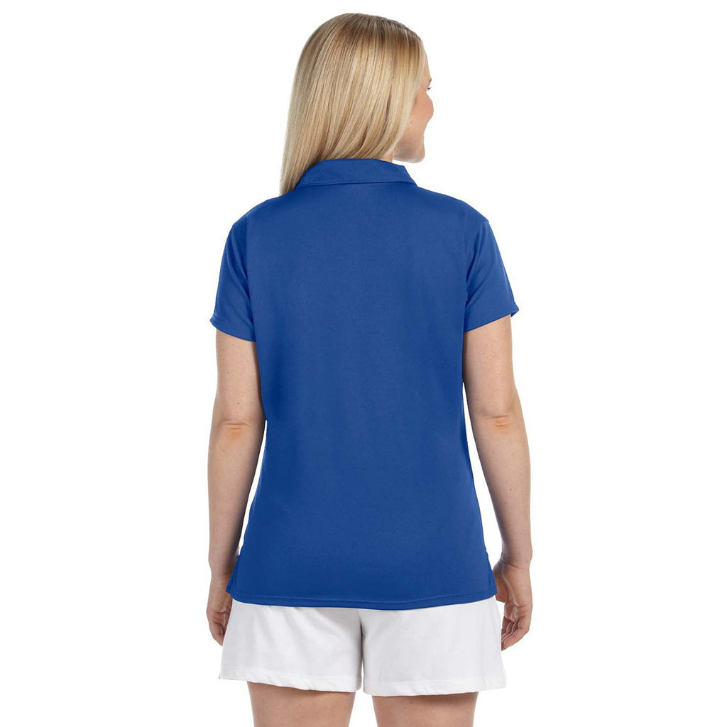 Russell Athletic Women's Royal Team Essential Polo