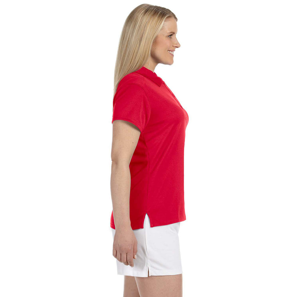 Russell Athletic Women's True Red Team Essential Polo