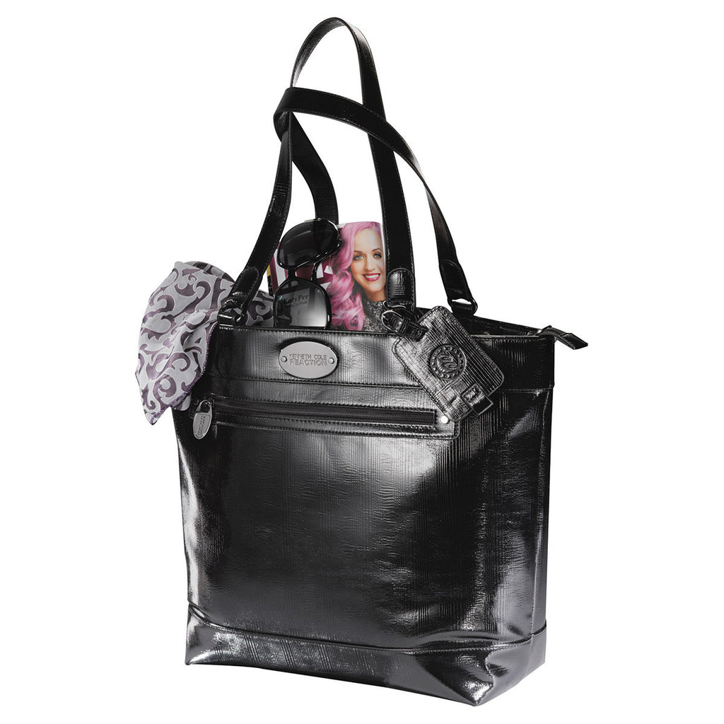 Kenneth Cole Etched in Time Women's Black Tote