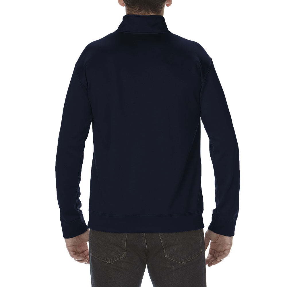 Gildan Men's Sport Dark Navy Performance Tech 1/4 Zip Sweatshirt