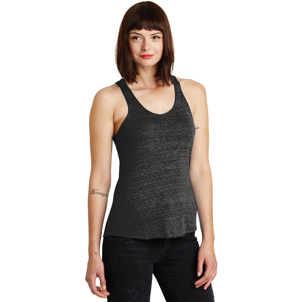 Alternative Women's Black Meegs Eco-Jersey Racer Tank