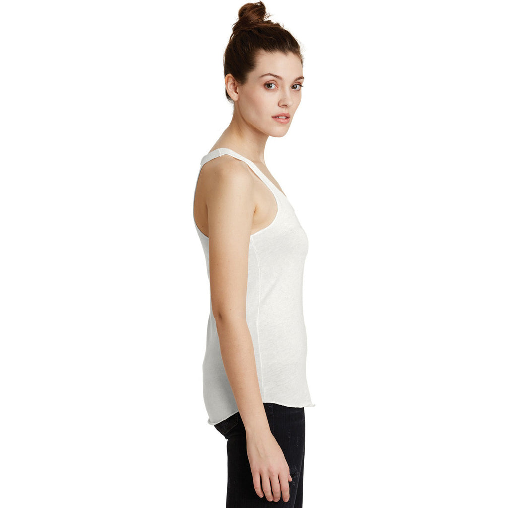 Alternative Women's Ivory Meegs Eco-Jersey Racer Tank