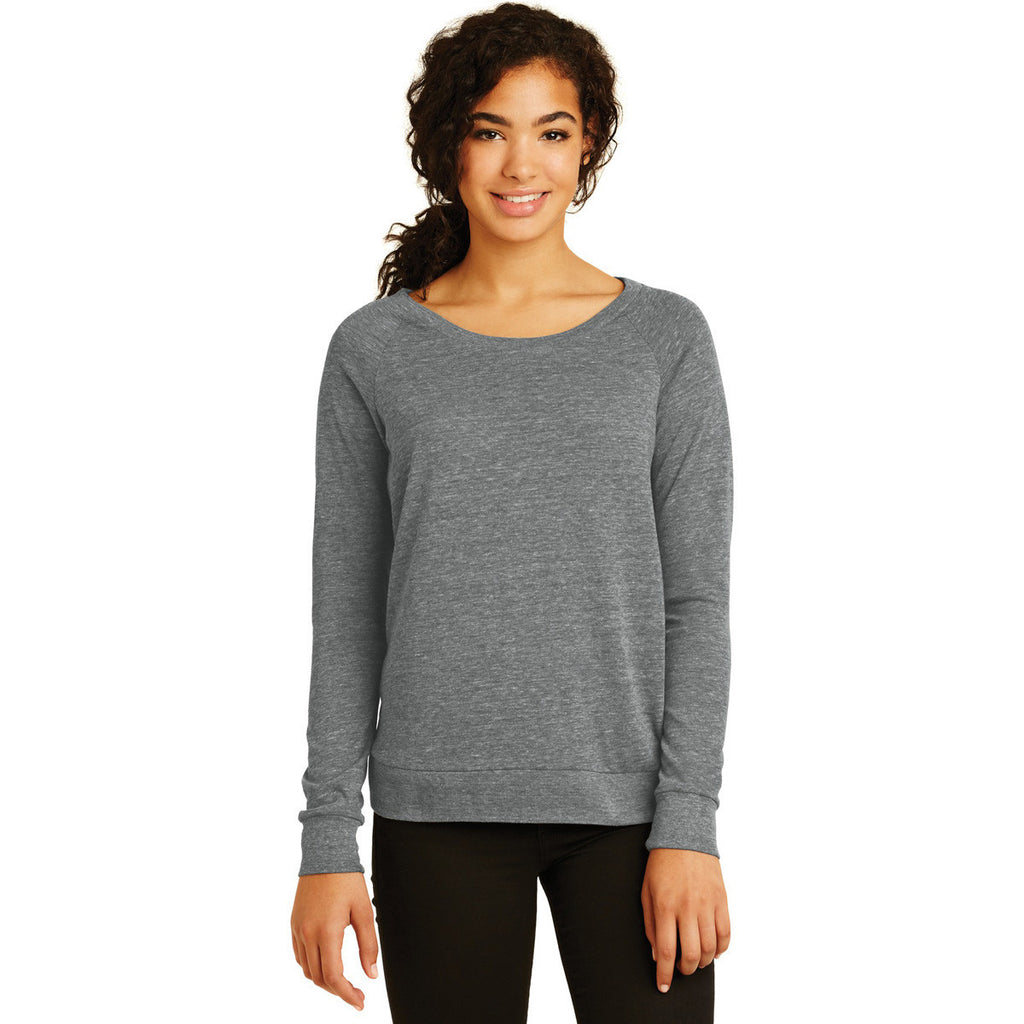 Alternative Women's Grey Eco-Jersey Slouchy Pullover