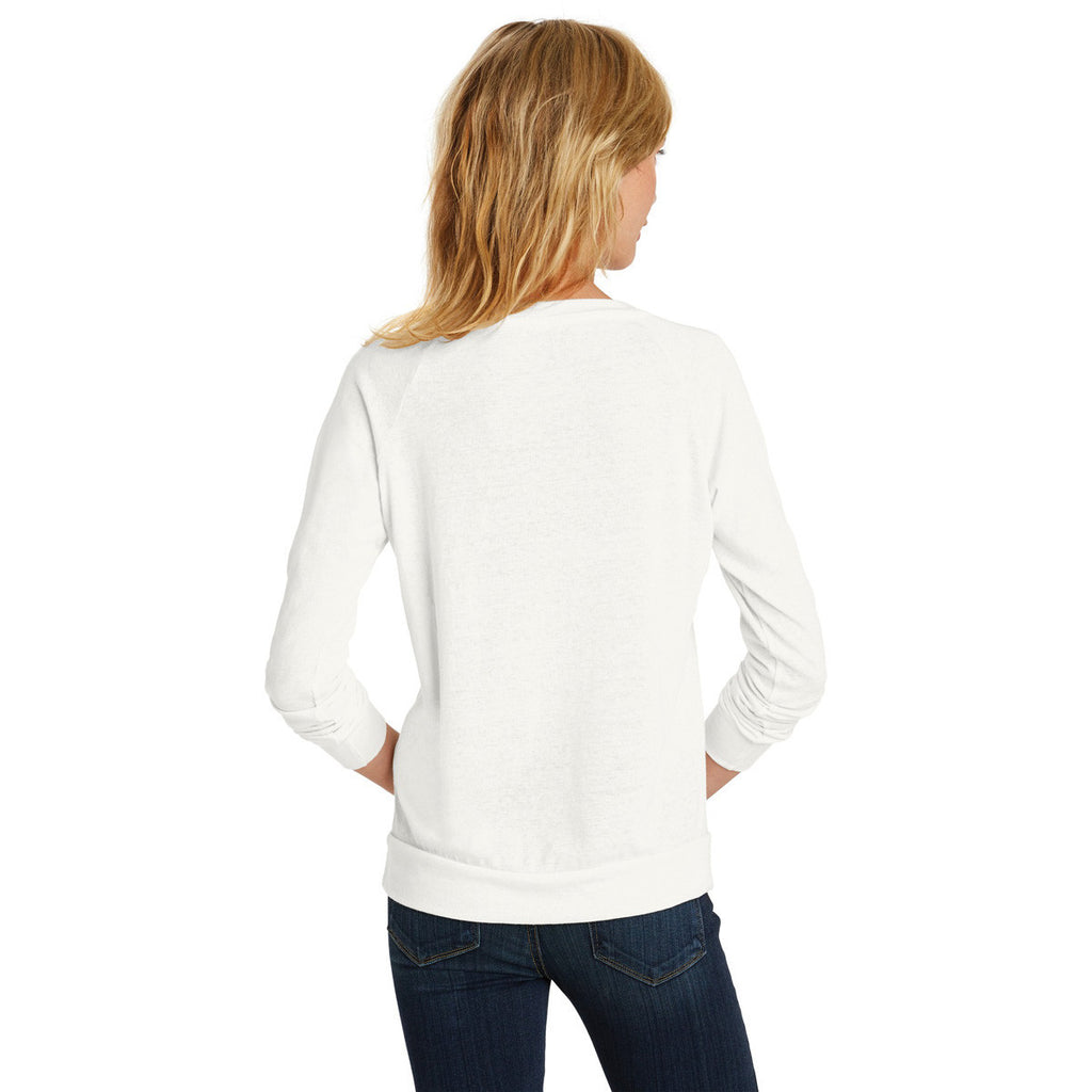 Alternative Women's Ivory Eco-Jersey Slouchy Pullover