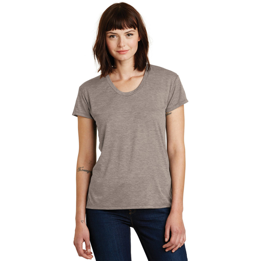 Alternative Women's Dirty Heather Kimber Melange Burnout T-Shirt
