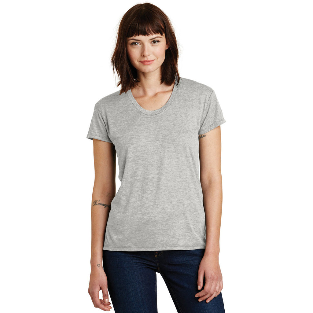 Alternative Women's Oatmeal Heather Kimber Melange Burnout T-Shirt
