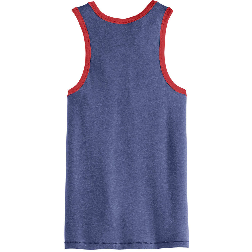 Alternative Men's Vintage Royal/Red Keeper Vintage 50/50 Tank