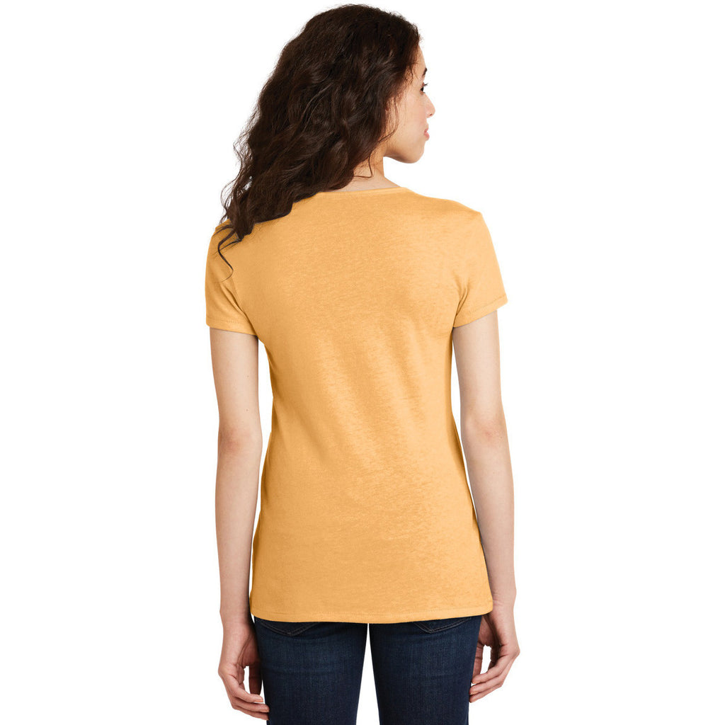 Alternative Women's Maize The Keepsake V-Neck Vintage 50/50 Tee