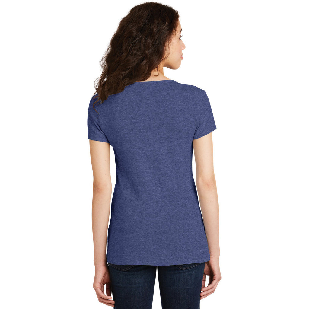 Alternative Women's Vintage Royal The Keepsake V-Neck Vintage 50/50 Tee