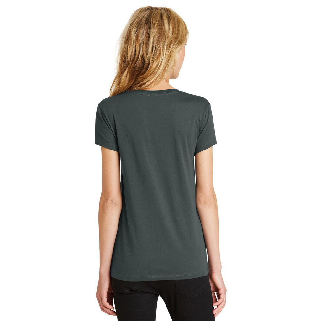 Alternative Women's Deep Charcoal Legacy Crew T-Shirt