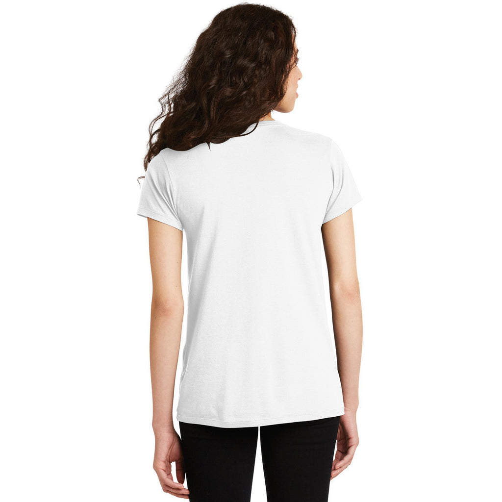 Alternative Women's White Legacy V-Neck T-Shirt