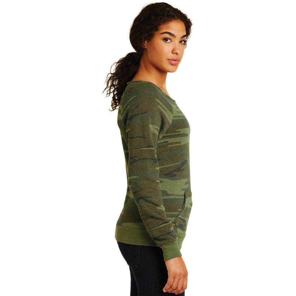 Alternative Women's Camo Maniac Eco-Fleece Sweatshirt