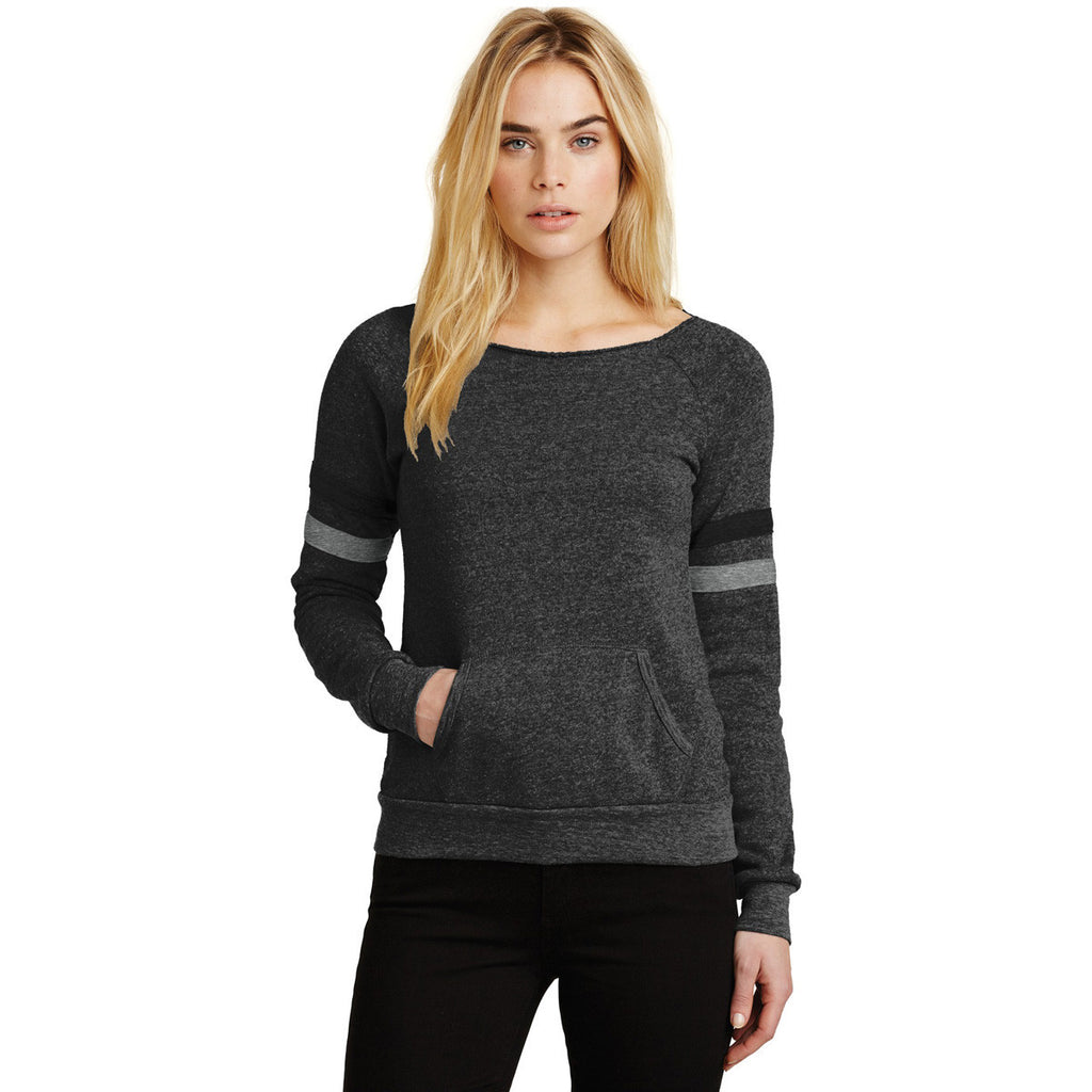 Alternative Women's Black Maniac Sport Eco-Fleece Sweatshirt