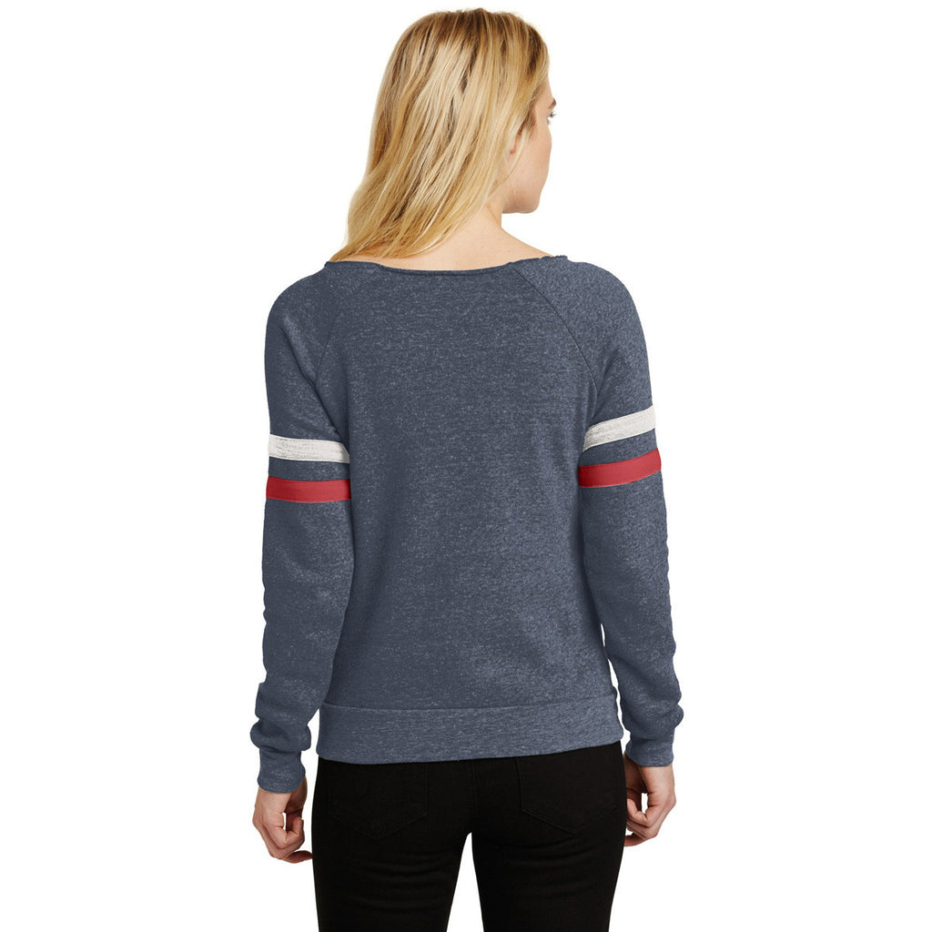 Alternative Women's True Navy Maniac Sport Eco-Fleece Sweatshirt